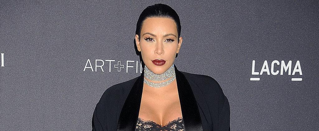 Kim Kardashian Flaunts Her Baby Bump on Instagram 37 Weeks Into Her Pregnancy