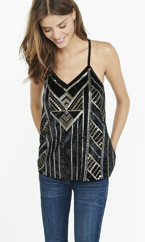Club Monaco Sequined Tank