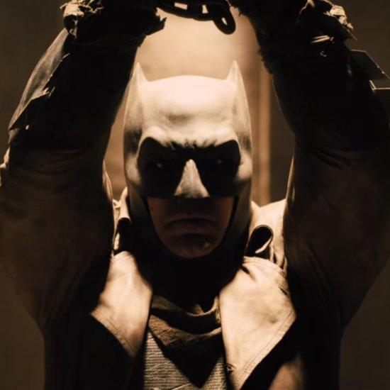 Ben Affleck Unmasked in Batman v Superman Teaser