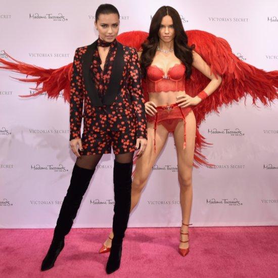 Adriana Lima Reveals Madame Tussauds Wax Figure