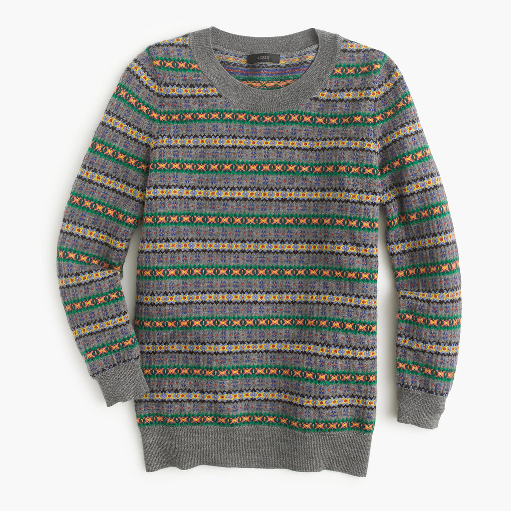 J.Crew Tippi Sweater in Fair Isle ($98)
