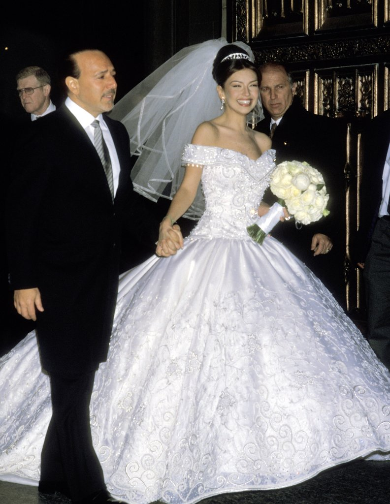 Thalia And Tommy Mottolas Wedding Pictures