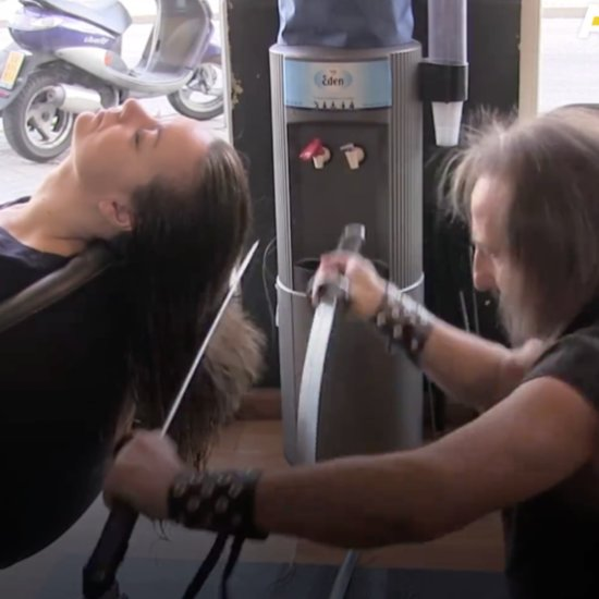 Cutting Hair With Swords