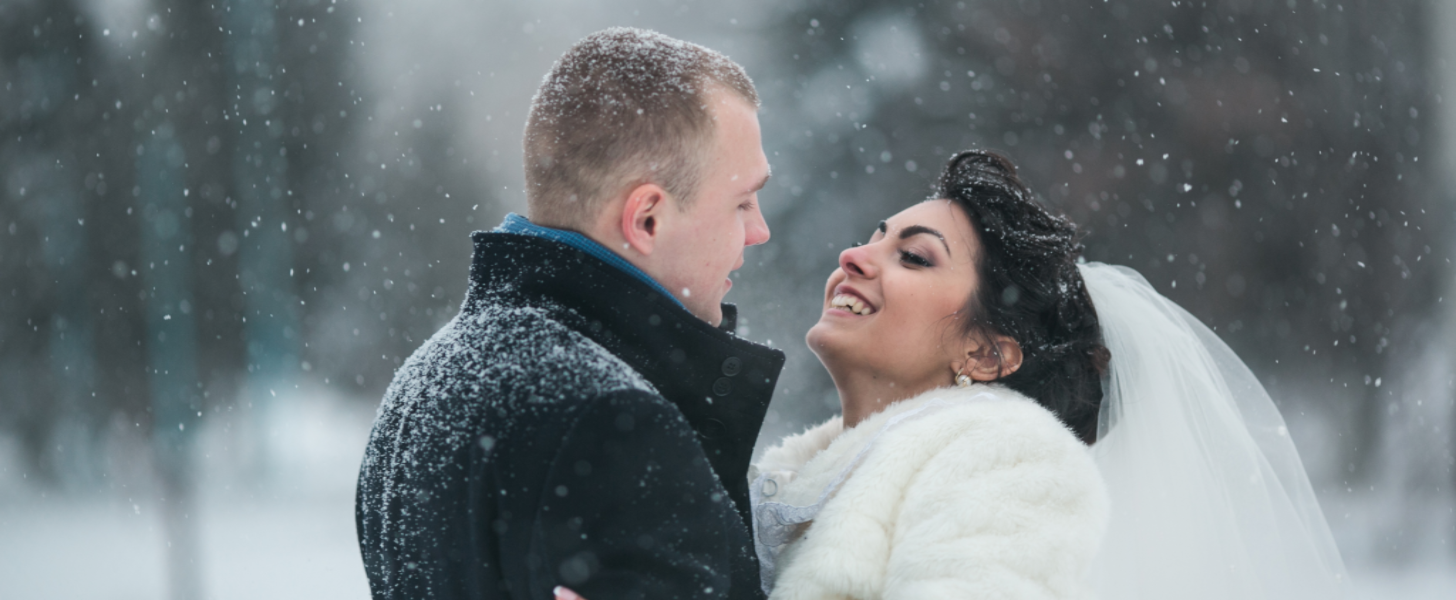 25 Photos That'll Have You Dreaming of a Winter Wonderland Wedding