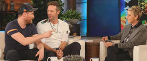 Swoon! Chris Martin Turns On the Charm in an Interview With Ellen DeGeneres