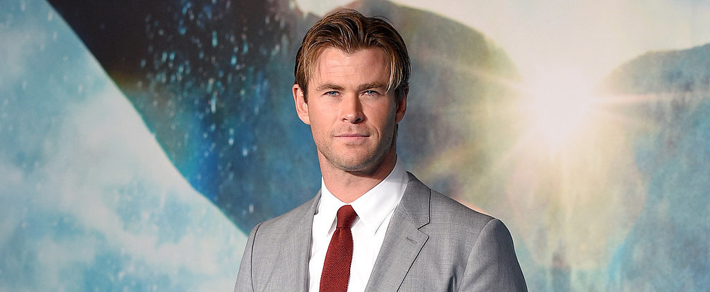 Start Your Monday Off Right With This Video of a Shirtless Chris Hemsworth Skateboarding