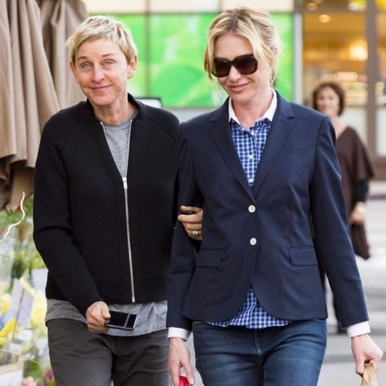 Ellen DeGeneres and Portia de Rossi Out in LA December 2015