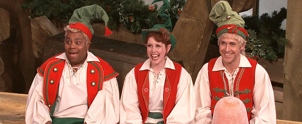 Watch Ryan Gosling Break Character as a Naughty Elf on SNL