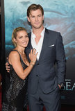 Chris Hemsworth and Elsa