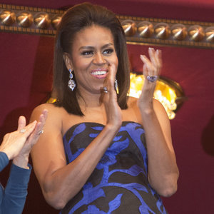 Michelle Obama's Strapless Gown at Kennedy Center Honors