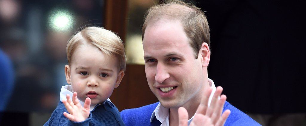 "Prince William Says He's Excited to See George ""Tackle His Presents"" This Christmas"