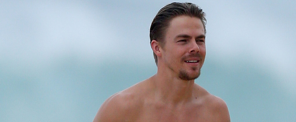 Derek Hough Has Clearly Never Dealt With Holiday Bloat