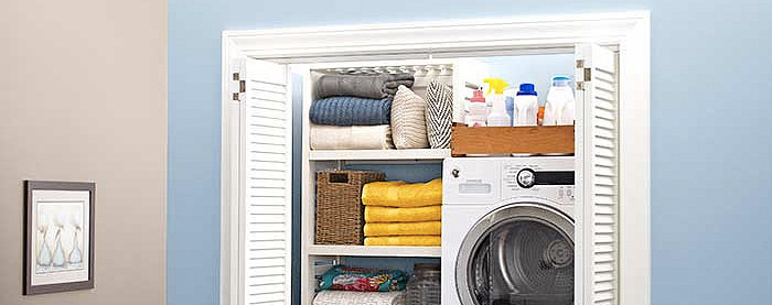 How to Convert Your Hall Closet Into a Laundry Room