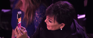 Kris Jenner Was 100% Regina George's Mum at the Victoria's Secret Fashion Show