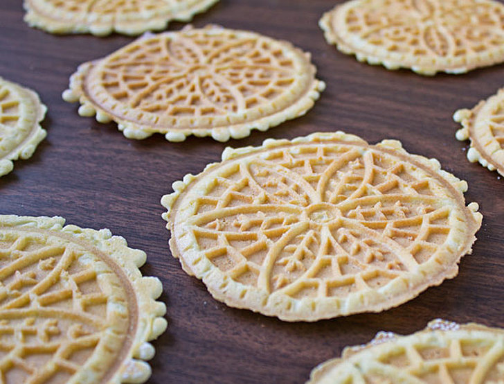 Italy pizzelle