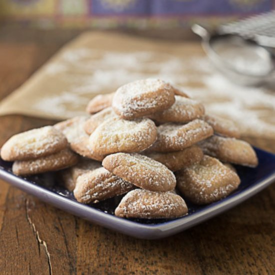 Spanish Lime Shortbread Cookie Recipe
