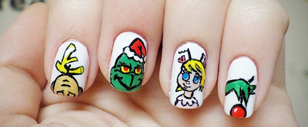 25 Grinch-Inspired Nail Art Ideas That Are Wickedly Festive