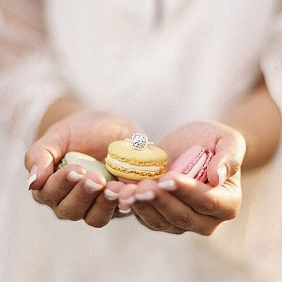 """The Most Stylish """"OMG I'm Engaged!"""" Wedding Ring Instagrams —Ever"""