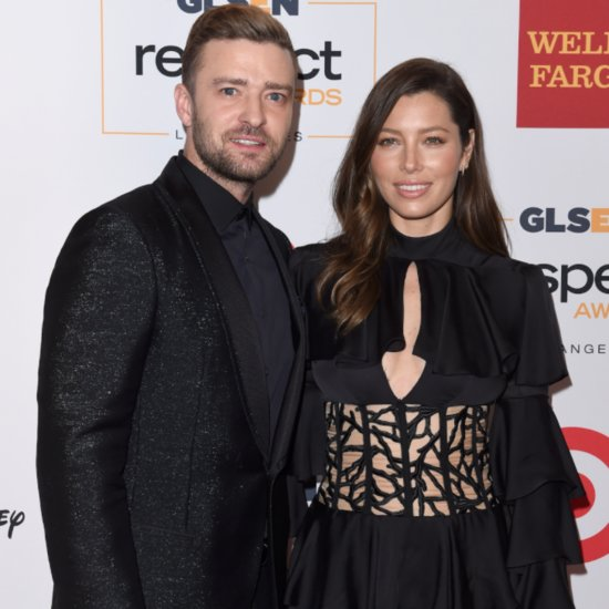 Justin Timberlake and Jessica Biel Take Their Son to Meet Santa Claus