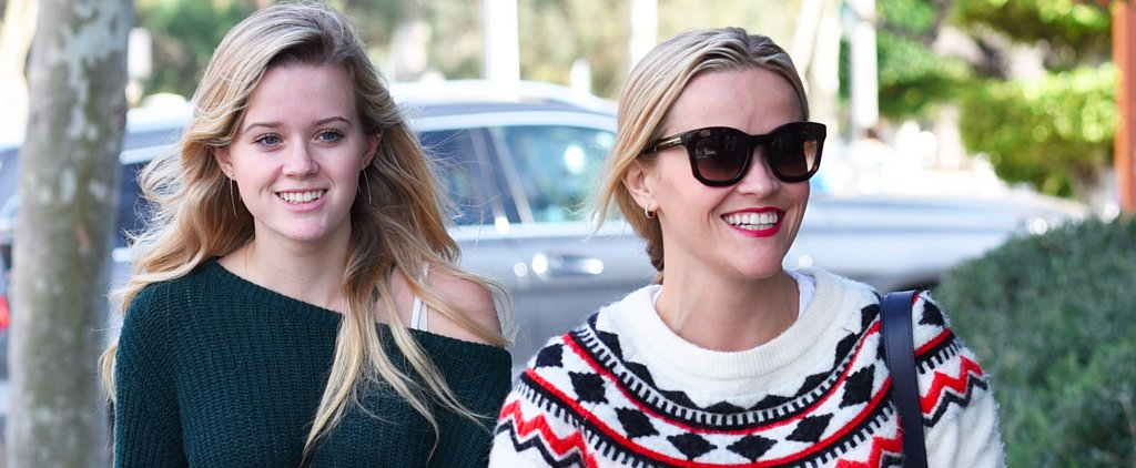 No, You're Not Seeing Double: Reese Witherspoon and Ava Phillippe Just Look That Alike