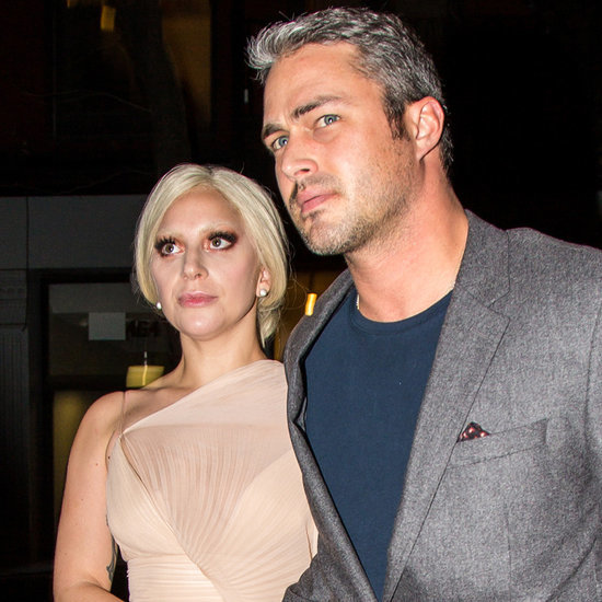 Lady Gaga and Taylor Kinney Out in NYC December 2015
