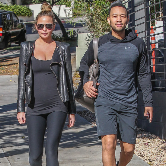 John Legend and Chrissy Teigen Shopping in LA December 2015