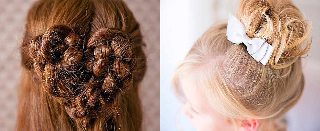 The Sweetest Holiday Hairstyles For Little Girls