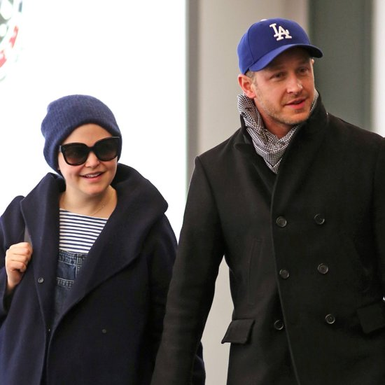 Ginnifer Goodwin and Josh Dallas Hold Hands in Vancouver