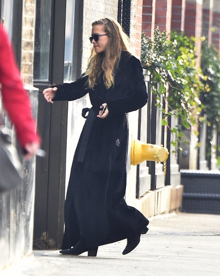 Mary-Kate Olsen Wearing Robe Coat