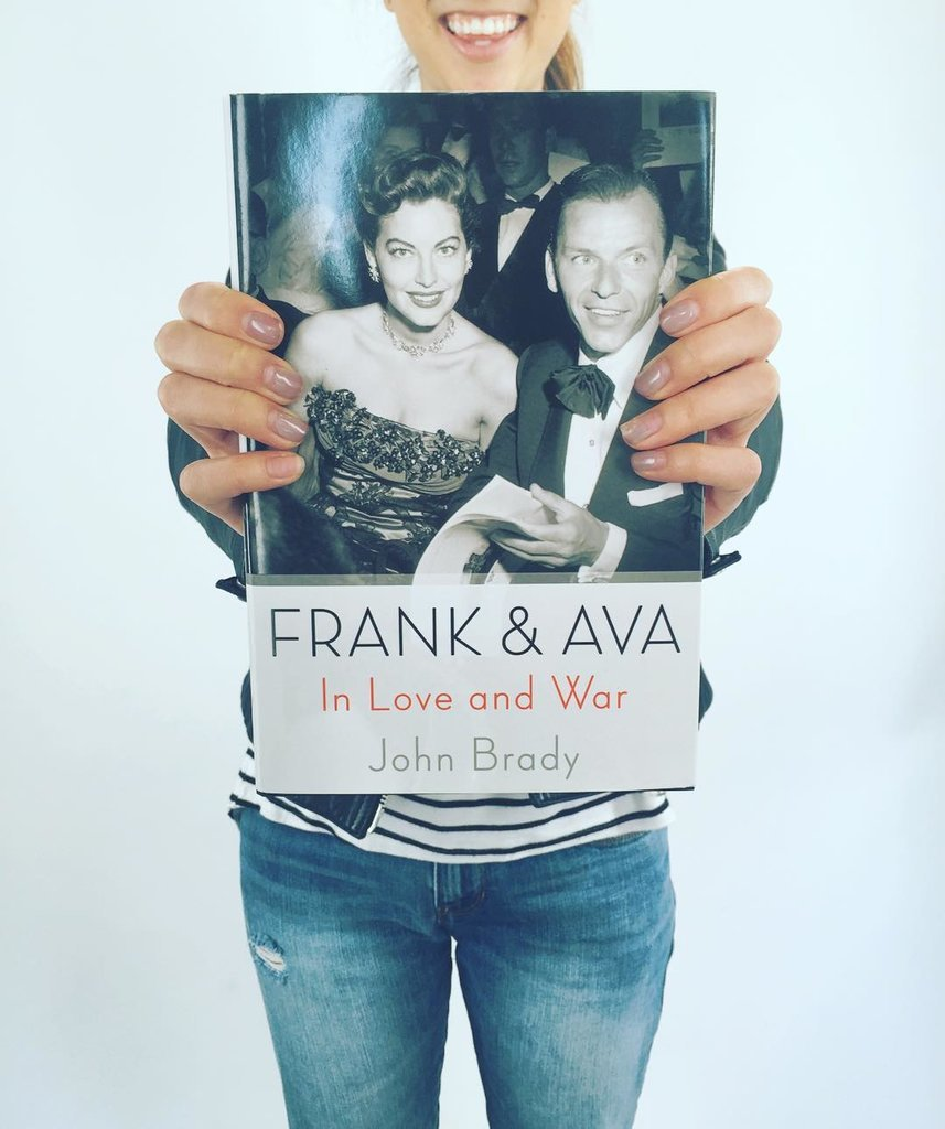 """""""Catching up on Frank and Ava this afternoon."""""""