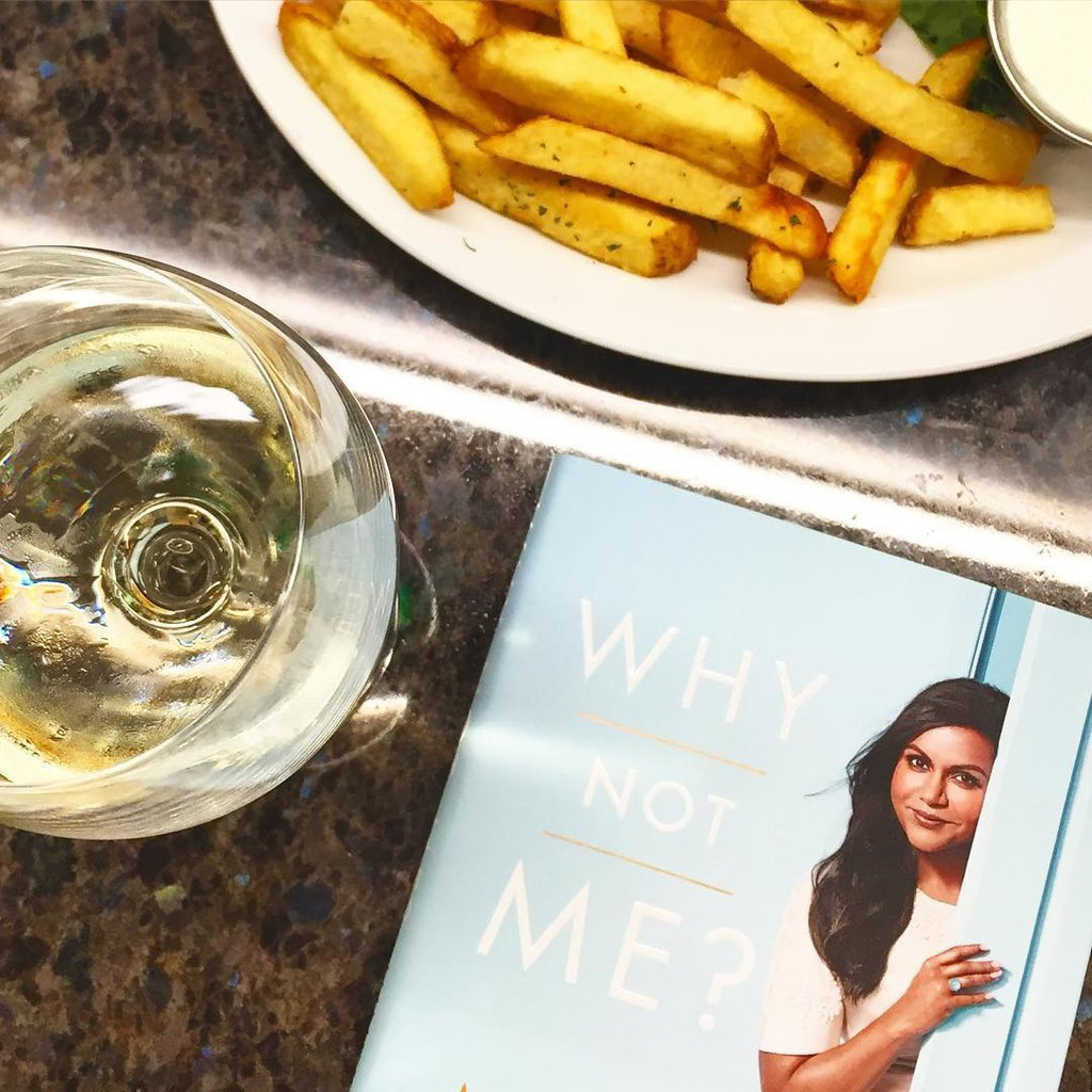 Mindy Kaling's Why Not Me? made for the perfect airport reading.