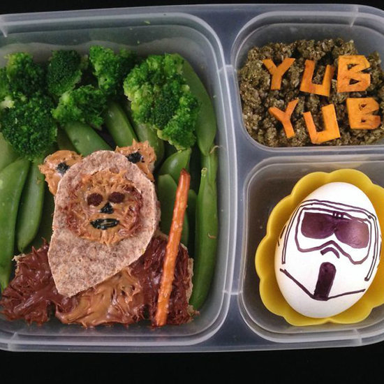 Creative Star Wars School Lunches