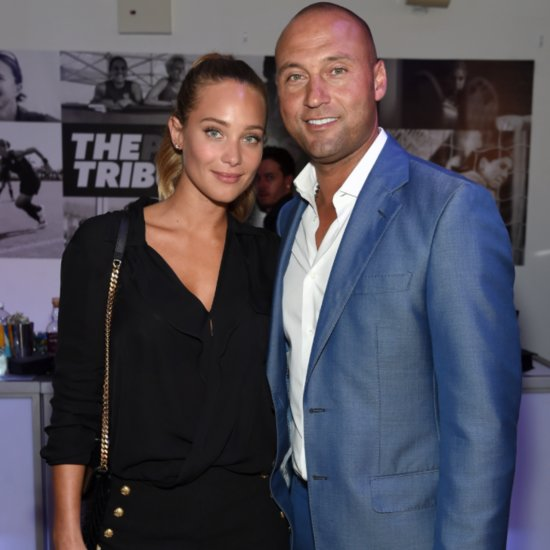 Derek Jeter's Fiancée Shows Off Her Engagement Ring in Sports Illustrated