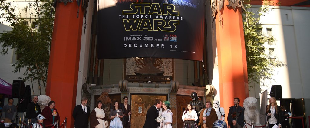 Would You Fly Abroad and Wait in Line For 12 Days to Get Married? These Star Wars Fans Did