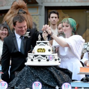 Star Wars: The Force Awakens Wedding