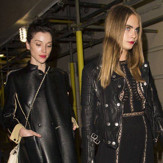 Cara Delevingne and St. Vincent in London December 2015