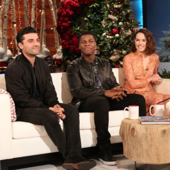 The Cast of Star Wars on The Ellen DeGeneres Show 2015