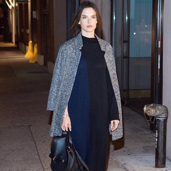 Alessandra Ambrosio's Chic Winter Street Style