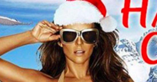 Elizabeth Hurley's Bikini Christmas Card Is A Breath Of Fresh Air