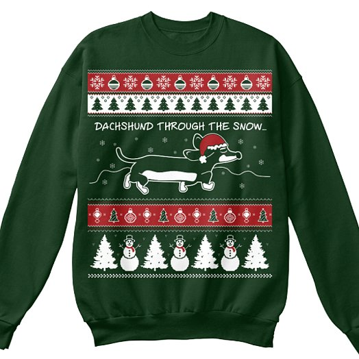 Ugly Christmas Sweaters With Animals