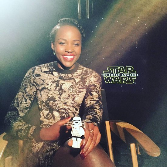 Lupita Nyong'o Star Wars Instagram Pictures