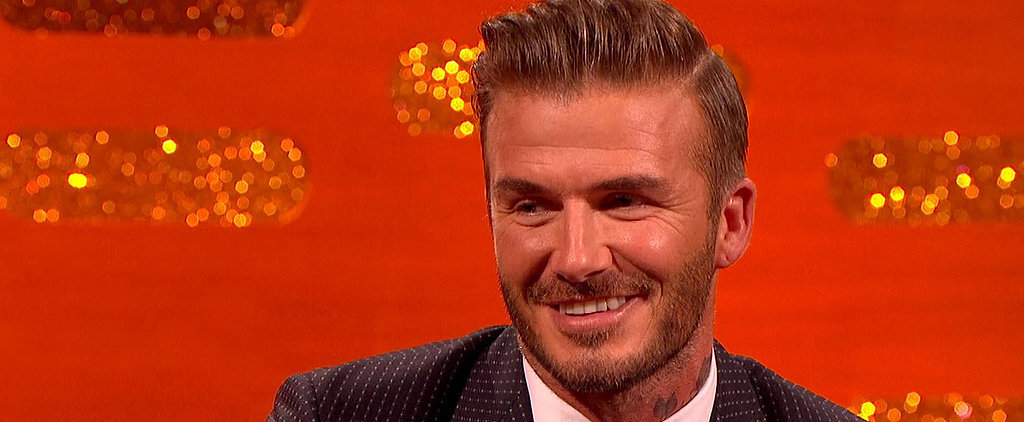 """David Beckham on His Son Brooklyn: """"He Doesn't Think I'm a Cool Dad"""""""