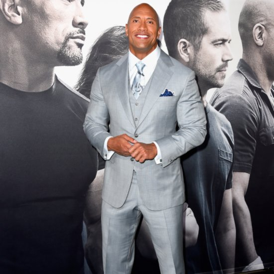 Dwayne Johnson's First Photo of Daughter December 2015