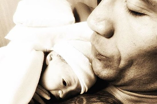 The Rock Just Posted A Heartwarming Photo Of Him With His Newborn Daughter