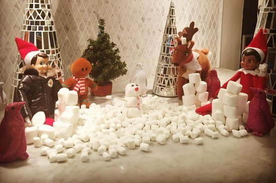 Busy Philipps' Elf On A Shelf Creations Are Seriously The Best Thing Ever