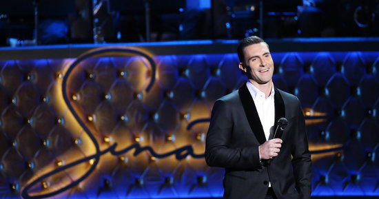 Adam Levine Goes Platinum Blond (Again)