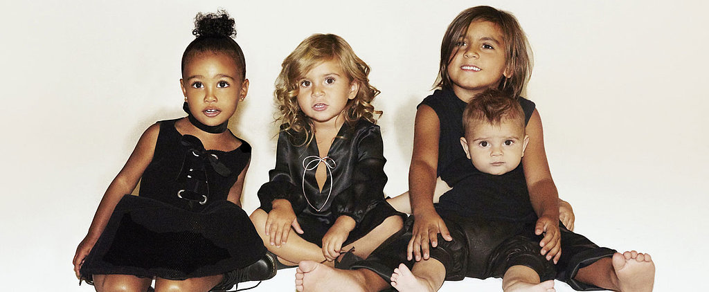 The Kardashian Family Christmas Card Keeps It All About the Kids