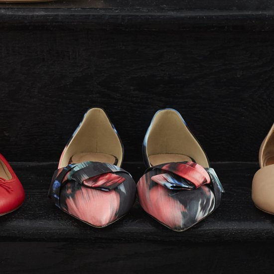 Give Your Feet a Break and Opt For Fancy Flats This NYE