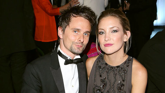 Kate Hudson Has a Merry 'Exmas' With Former Fiancé Matthew Bellamy
