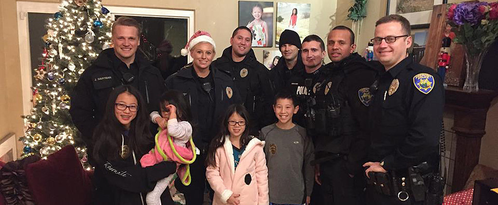 What These Officers Did to Save Christmas For 4 Kids Will Blow You Away